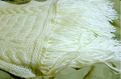 Cable Fringed Scarf
